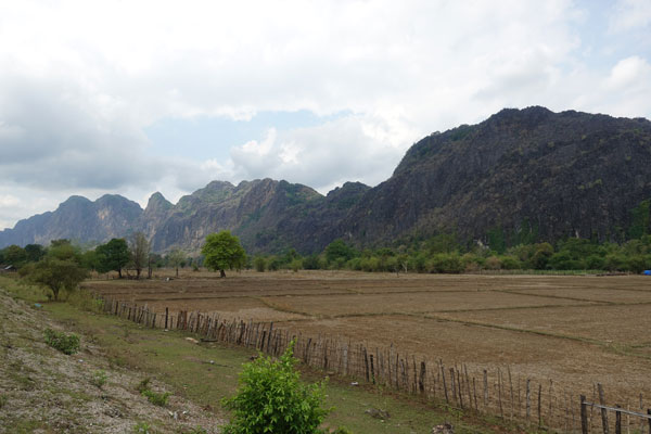 Loop-in-Laos-Landschaft