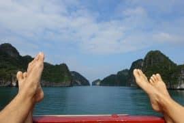 Reisebericht Vietnam Sehenswürdigkeiten Halong Bay Han La Bay und Cat-Ba Beitragsbild
