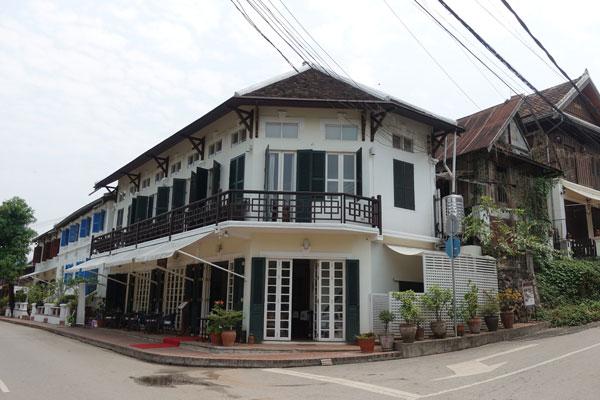 Reisebericht Laos Sehenswürdigkeiten Luang-Prabang-Promenade-Mekongufer