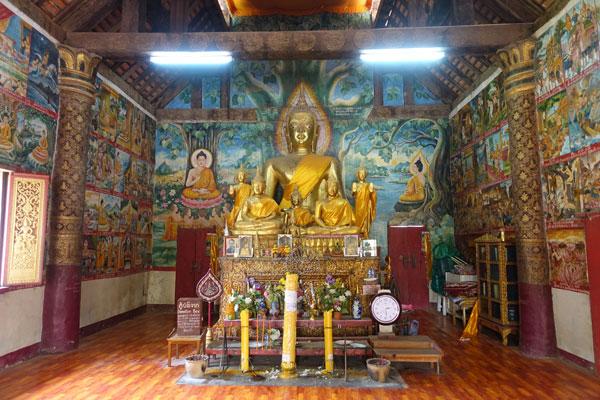 Reisebericht Laos Sehenswürdigkeiten Luang-Prabang-Wat-Aham