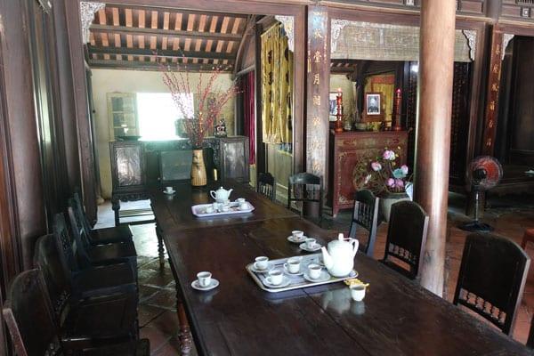 Reisebericht Vietnam Sehenswürdigkeiten Hue An Hien Garden House innen