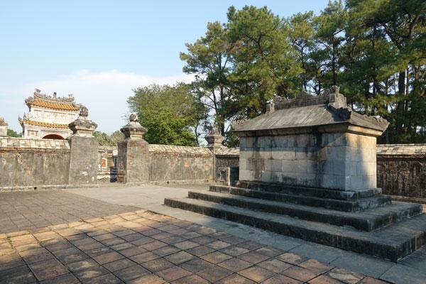Reisebericht Vietnam Sehenswürdigkeiten Hue Tu Duc Tomb