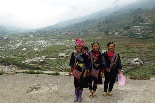 Reisebericht Vietnam Sehenswürdigkeiten Sapa Tagestour-Lao-Chai