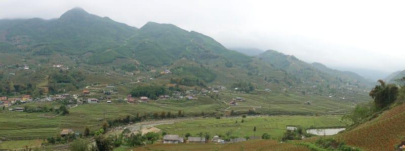Vietnam-Sapa-Tagestour-unterwegs-Panorama