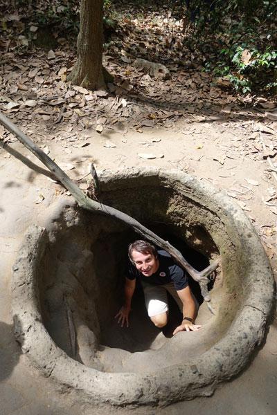 Tour Cu Chi Tunnel von Saigon