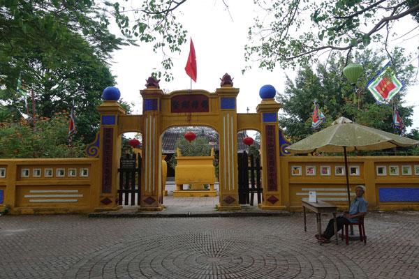 Reisebericht Vietnam Sehenswürdigkeiten Hoi An Altstadt Gemeindehaus von Cam Pho