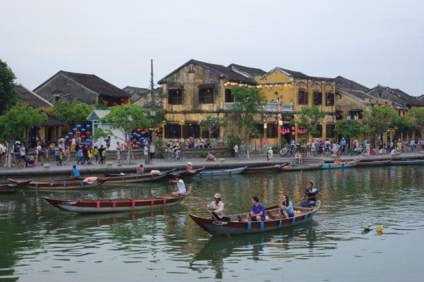 Reisebericht Vietnam Sehenswürdigkeiten Hoi An Altstadt Old City am Fluss