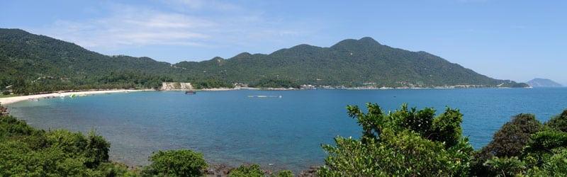 Vietnam Hoi An Cham Island Aussicht Panorama