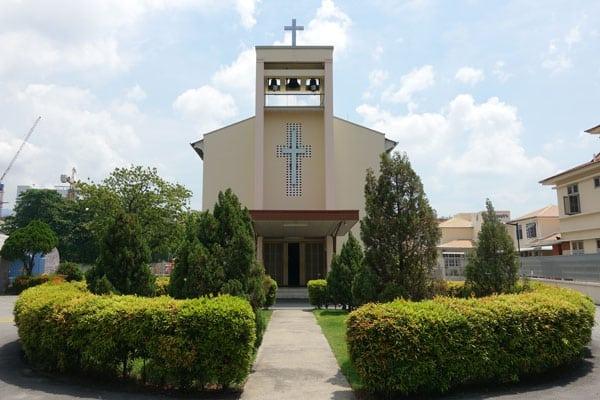 Georgetown Penang Malaysia St. Francis Xavier Church