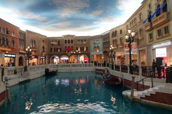 Macau Sehenswürdigkeiten Casinos Venetian