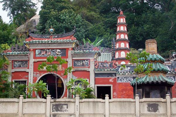 Macau Sehenswürdigkeiten Heritage Trail A-Ma-Tempel