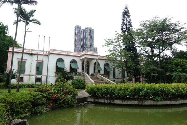 Macau Sehenswürdigkeiten Heritage Trail Casa Garden