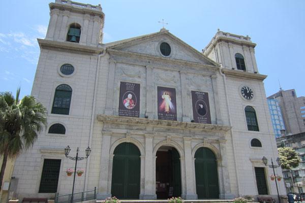Macau Sehenswürdigkeiten Heritage Trail Cathedral