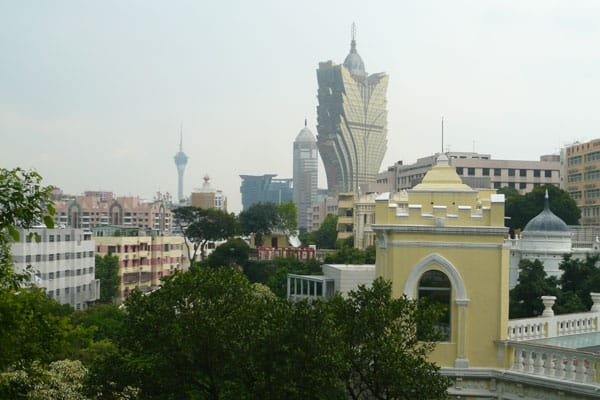 Macau Sehenswürdigkeiten Heritage Trail Guia Fortress