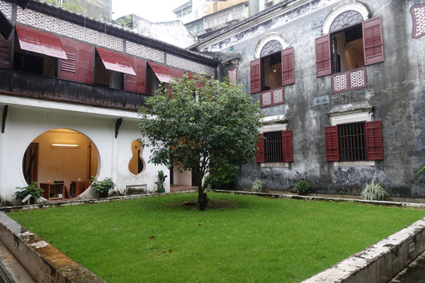 Macau Sehenswürdigkeiten Heritage Trail Mandarins House