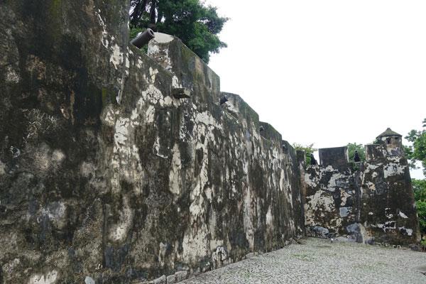 Macau Sehenswürdigkeiten Heritage Trail Mount Fortress