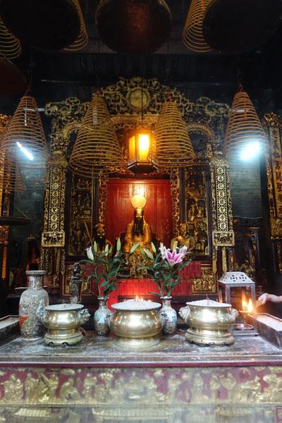 Macau Sehenswürdigkeiten Heritage Trail Sam Kai Vui Kun Tempel
