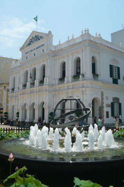 Macau Sehenswürdigkeiten Heritage Trail Holy House of Mercy