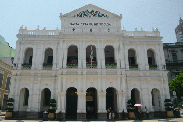 Macau Sehenswürdigkeiten Heritage Trail Senado Square