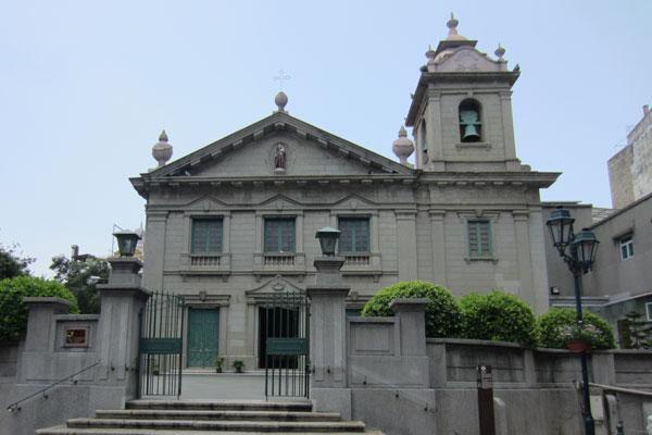 Macau Sehenswürdigkeiten Heritage Trail St. Anthony Church