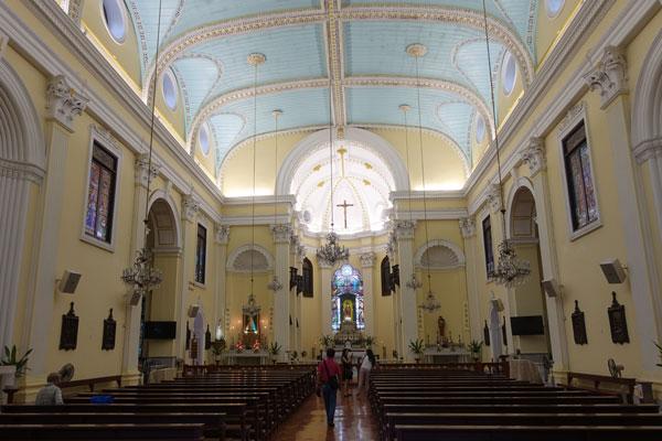 Macau Sehenswürdigkeiten Heritage Trail Lawrence Church