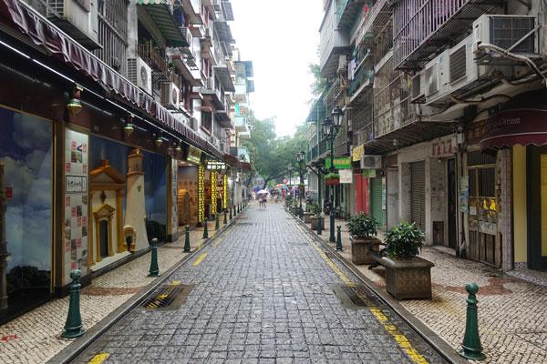 Macau Sehenswürdigkeiten Stadtbild