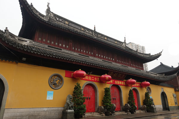 Shanghai Sehenswürdigkeiten Jade Buddha Tempel