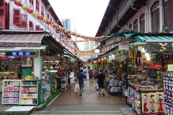 Singapur Sehenswürdigkeiten Chinatown