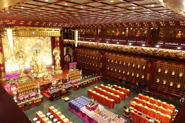 Singapur Sehenswürdigkeiten Chinatown Buddha Tooth Relic Tempel