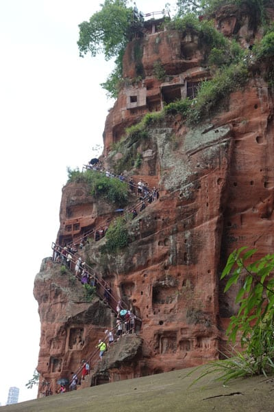 Großer Buddha von Leshan Tagesausflug von Chengdu