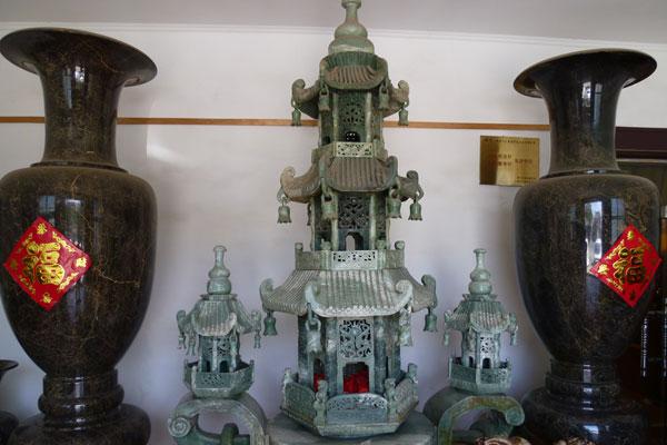 Chinesische Mauer Badaling Peking Manufaktur Ming-Vasen