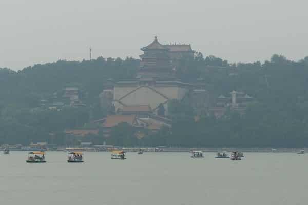 Peking Sehenswürdigkeiten Neuer Sommerpalast Kunming See