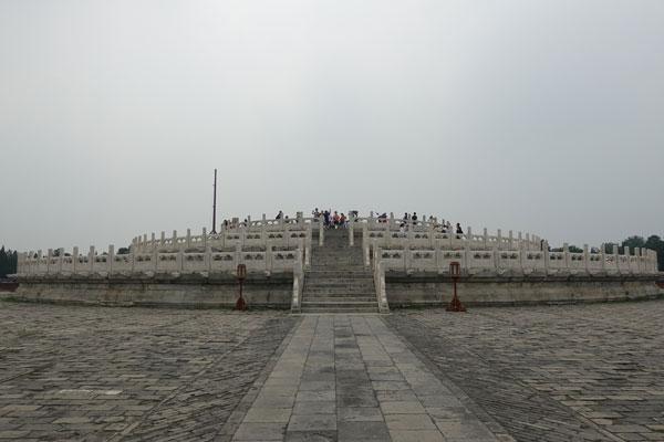 Peking Sehenswürdigkeiten Temple of Heaven Himmelstempel Circular Mound
