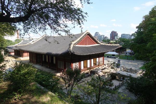 Seoul Sehenswürdigkeiten Changdeokgung Palace