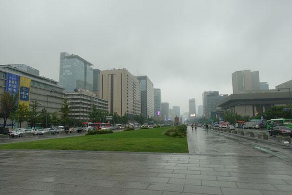 Seoul Sehenswürdigkeiten Gwanghwamun Square