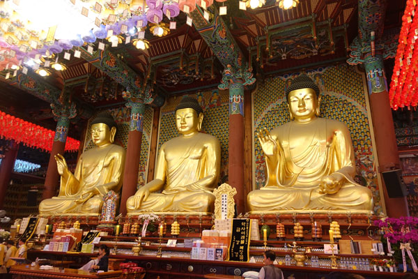 Seoul Sehenswürdigkeiten Jogyesa Tempel