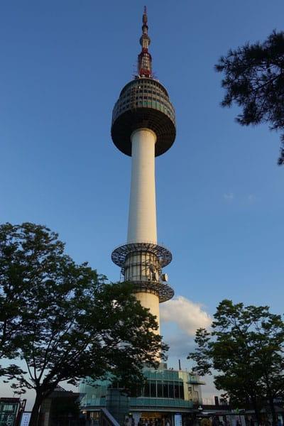 Seoul Sehenswürdigkeiten N Seoul Tower