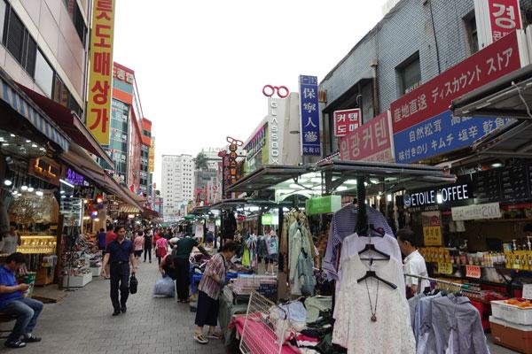 Seoul Sehenswürdigkeiten Namdaemun Market