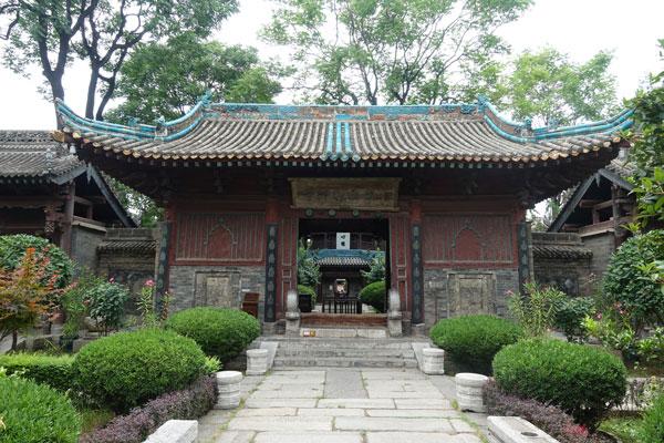 Xian Sehenswürdigkeiten Great Mosque Moschee