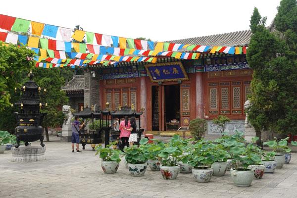 Xian Sehenswürdigkeiten Lama Tempel