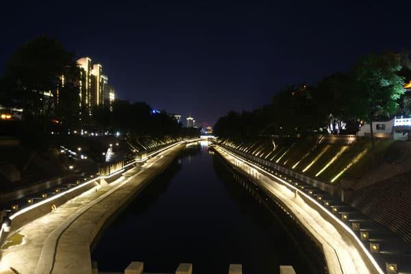 Xian Sehenswürdigkeiten Stadtbild