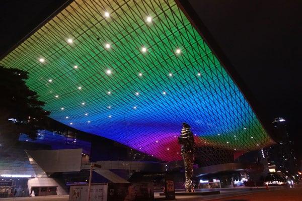 Busan Sehenswürdigkeiten Centum City Busan Cinema Center