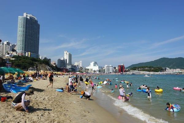 Busan Sehenswürdigkeiten Songdo Beach