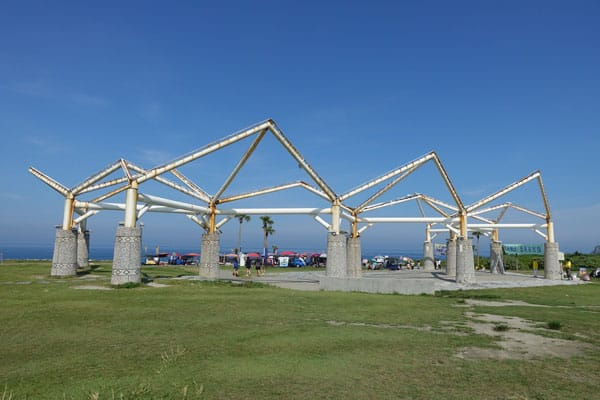 Hualien Taiwan Fahrradtour entlang der Ostküste Qixintan Beach