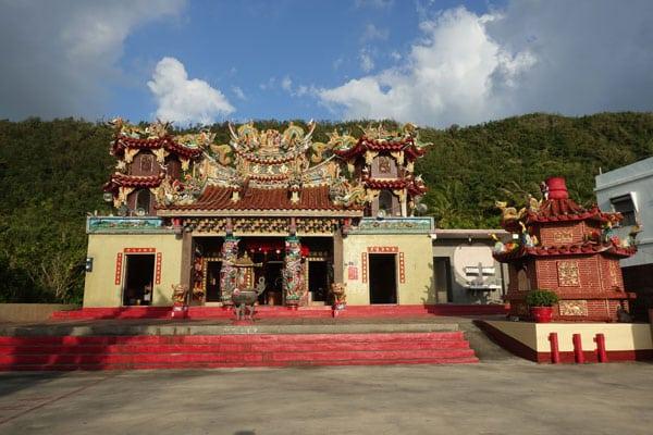 Kenting Nationalpark Tagesausflug mit dem Moped Tempel in Hongchaikeng