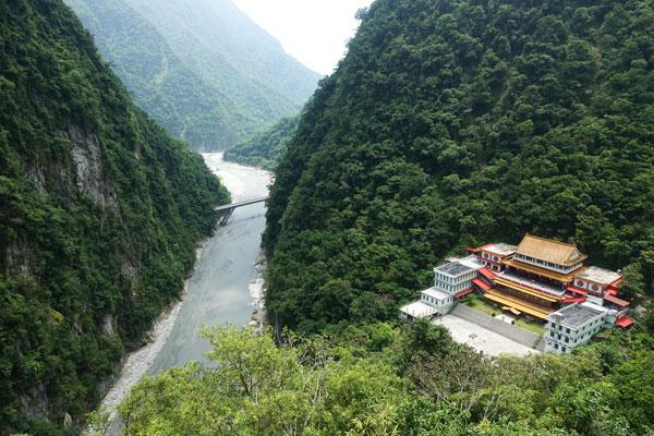 Taroko Nationalpark Taiwan Taroko Schlucht Changchun Shrine Trail