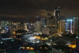 Reisebericht Malaysia Aussicht Skyline Kuala Lumpur