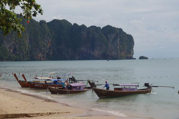 Reisebericht Thailand Sehenswürdigkeiten Region Krabi Ao Nang