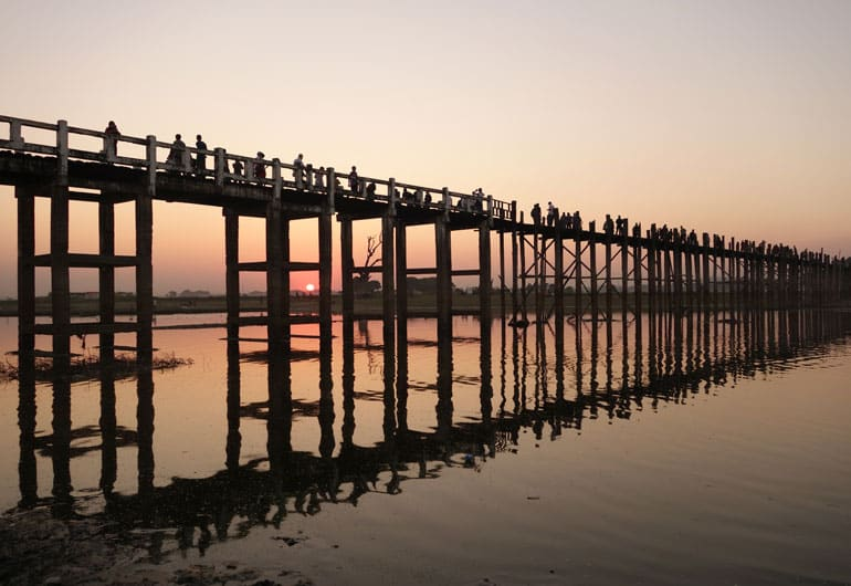 Tagesausflug von Mandalay – Amarapura, Sagaing und Inwa