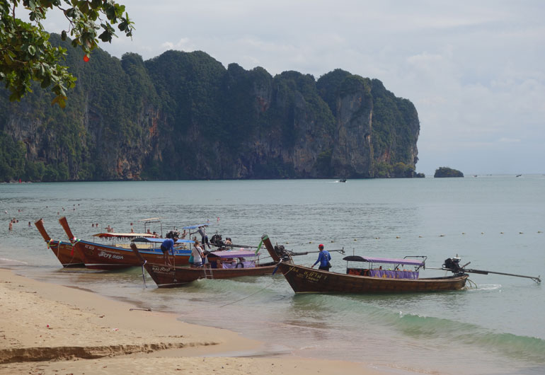 Die Provinz Krabi – Ao Nang, Krabi-Town und Railay Beach